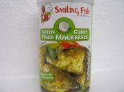 Gebratene Makrelen in gr�nem Curry, Smiling Fish, 155g